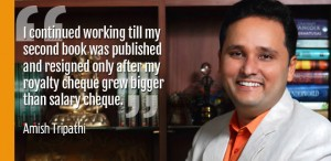 Amish Tripathi's genius diffuses to his financial life as well
