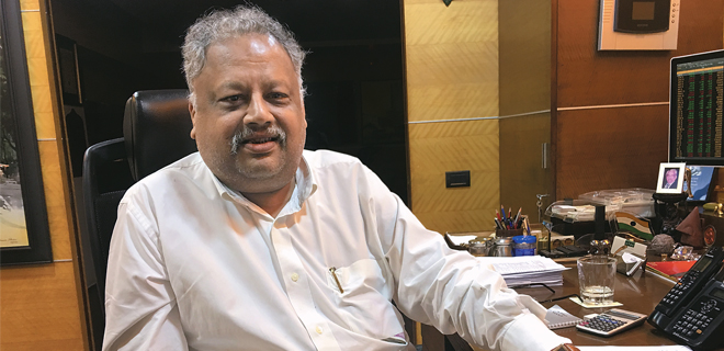 The Oracle of Dalal Street - Rakesh Jhunjhunwala