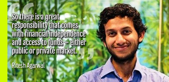 OYO Founder, Ritesh Agarwal shows us why dreams can't wait