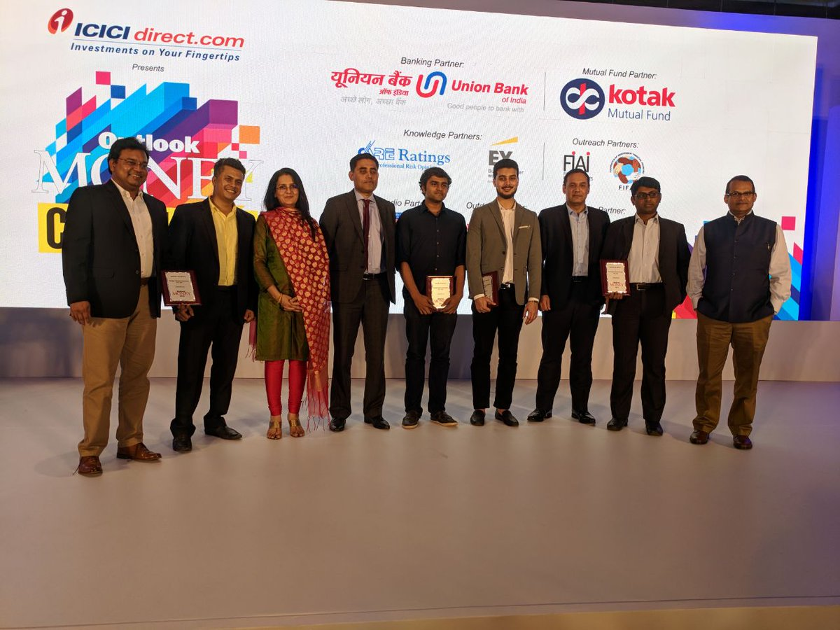 Fintech Felicitation at Outlook Money Conclave 2018