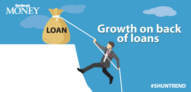 Growth on back of loans