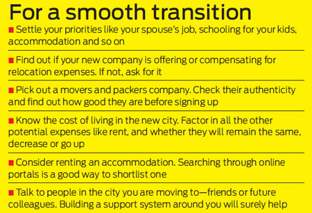 How to make systematic relocation plan?